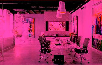 Raum Pink
